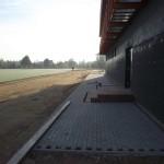 Kupiškio miesto stadiono rekonstrukcija. Bėgimo takų, pėsčiųjų šaligatvių įrengimas. Rangovas UAB NODAMA